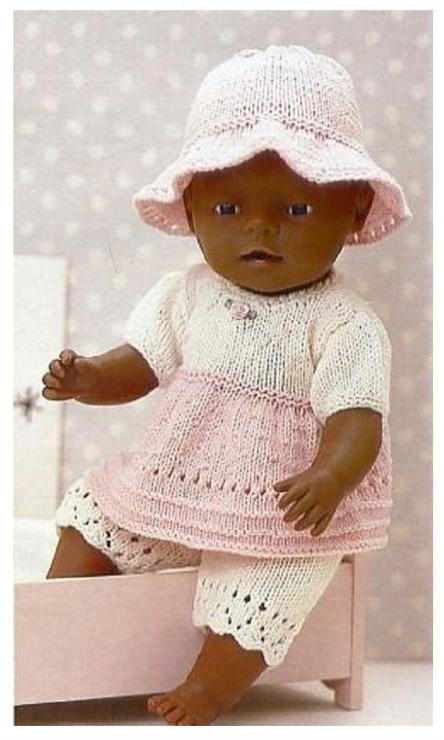 Вязание Одежды Для Кукол С Описанием - luckyboysrpg