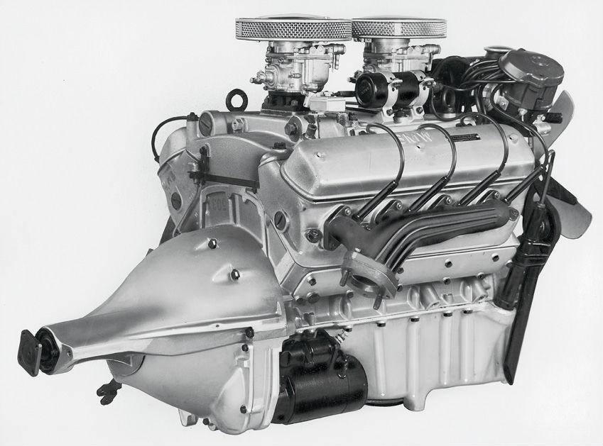 BMW 503 двигатель