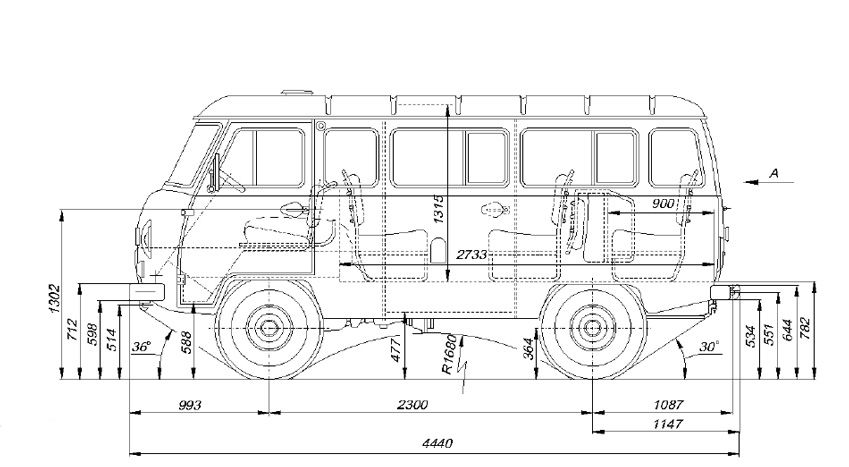 УАЗ-2206 – именно на этот