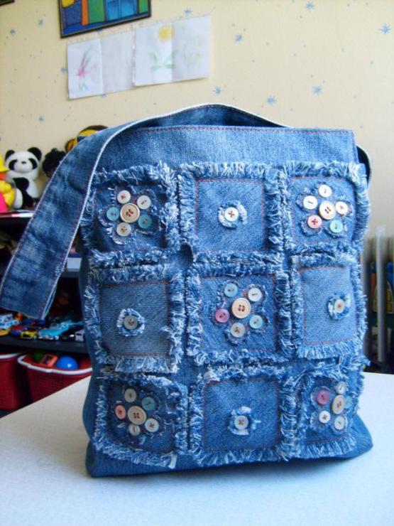 Джинсовая сумка из старых джинсов своими руками выкройки