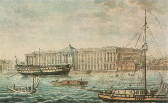 Академия художеств в петербурге рисунок