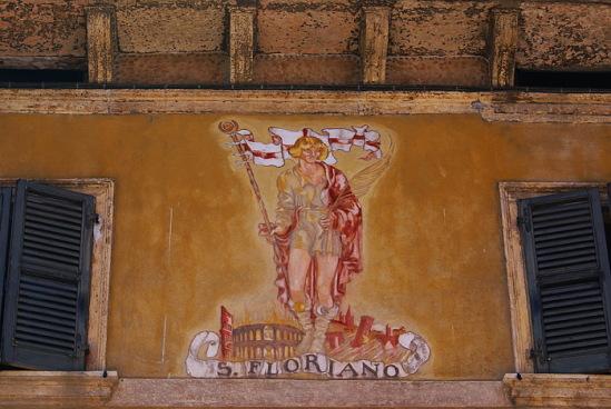 Италия, Верона. Св. Флориан.