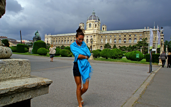 Вена. Площадь Марии-Терезии.