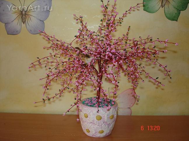 Схема плетения на сайте Плетение бисером деревья сакура схема Laboratory household.