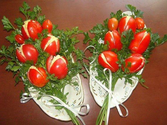 Как красиво оформить салаты с фотографиями