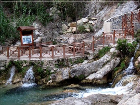 Водопад бенидорм испания