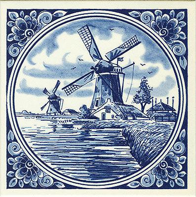 Голландские изразцы картинки для декупажа