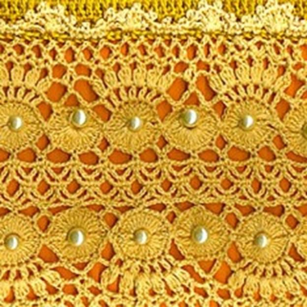 Комментарий: Модный узор крючком О вязании вязание крючком