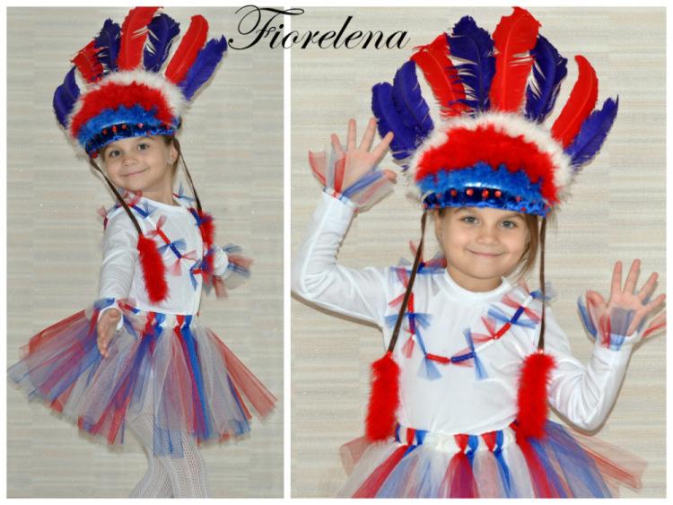 Как сделать костюм папуаса для девочки своими руками - ItHour