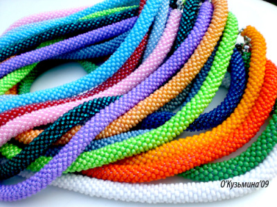 по вязанию цветного жгута